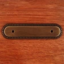 Cabinet Backplate Rk International Bp 1792 Bae Solid Brass Cabinet Pull Backplate