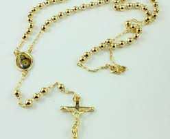 rosary from the vatican 18k gold prey rosary from the vatican amosh european jewellery