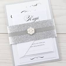 wedding invitations glitter glitter wedding invitations invitation wedding invites
