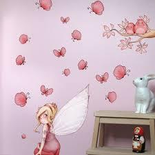 stickers chambre bébé fille fée sticker mural lou et sticker chambre enfant