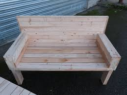 canap en palette en bois fabuleux banquette en bois de palette sa44 montrealeast