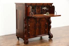 Mid Century Secretary Desk by Sold Empire Mahogany 1835 Antique Butler Secretary Desk Secret
