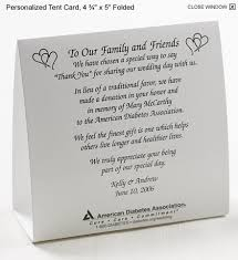 wedding gift donation to charity get married and do some american diabetes association
