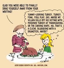 thanksgiving novelist