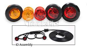 truck lite marker lights truck lite model 33 marker clearance grommet kit