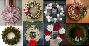 amazing diy christmas wreaths for a festive mood