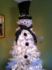 snowman tree best 25 snowman tree topper ideas on snowman tree
