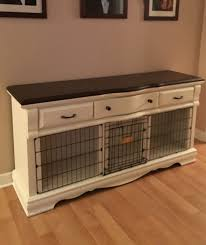 Diy End Table Dog Crate by An Old Dresser I Converted To Dog Crate U2026 Pinteres U2026