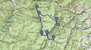 Tos Map West Virginia Hiking And Backpacking Trails Explore West