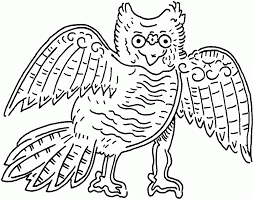 owl coloring pages for toddlers free printable owl coloring pages