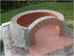 backyards outstanding free plans for a brick outdoor pizza oven