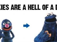 Monster Meme - cookie monster meme weknowmemes
