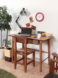 laptop computer end table modern wood computer laptop desk table workstation for home office