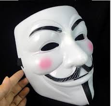 men masquerade masks masquerade mask party masks for men new v for vendetta anonymous