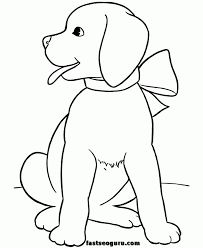 dogs pictures color kids coloring
