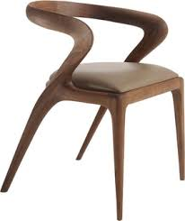 Midcentury Modern Dining Chairs - salma dining chair by camus contemporary transitional mid