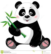 panda bear clipart black and white clipartfest panda bear