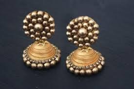 how to make jhumka earrings indian jhumka diy earrings allfreejewelrymaking