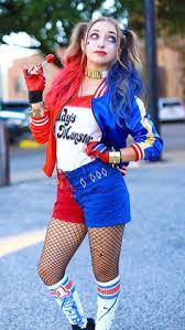 Harley Quinn Halloween Costume Diy Harley Quinn Pigtails Diy Halloween Costumes Diy Halloween
