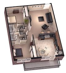 Small 3 Bedroom House Plans by Love The Fact It Has A Terrace 3d Floor Plans Architecture