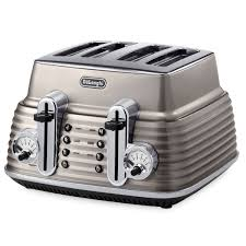 Toaster And Kettle De U0027longhi Scultura 4 Slice Toaster And Kettle Bundle Champagne