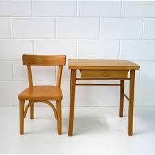 le de bureau pour enfant bureau et chaise pour enfant vintage de baumann en vente sur pamono