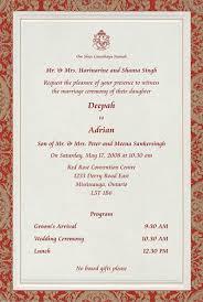 Wedding Programs Wording Examples Indian Wedding Invitations Wording Lake Side Corrals