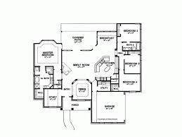 2500 sq ft floor plans 2500 sq ft one level 4 bedroom house plans house plan four