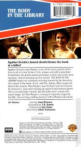 agatha christie u0027s miss marple the body in the library