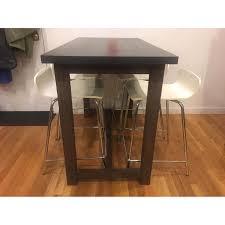 crate barrel galvin high dining table aptdeco crate barrel galvin high dining table 0