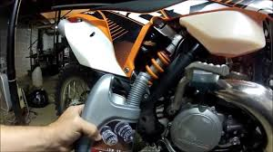 ktm gear oil change youtube