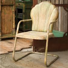 vintage style metal patio chairs wherearethebonbons com