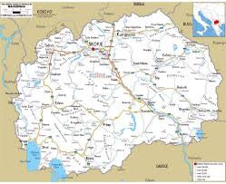 Map Of Greece With Cities by Maps Of Macedonia Detailed Map Of Macedonia In English Tourist