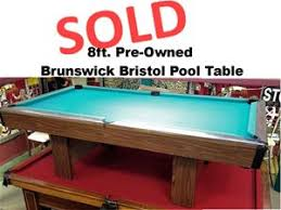 brunswick bristol 2 pool table sold pre owned brunswick bristol 8ft loria awards