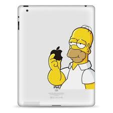 homer simpson ipad decal kongdecals macbook decals