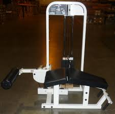 midwest used fitness equipment paramount selectorized prone leg