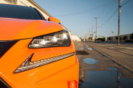 lexus sport orange 2015 lexus nx 200t f sport sema headlight forcegt com