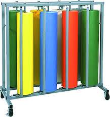 8 roll mobile rack cm supply