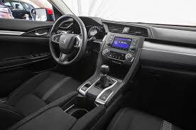 Honda Civic 2010 Interior 2016 Honda Civic Sedan Review