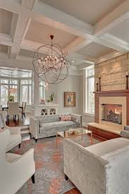Living Room Ceiling Designs 2015 Add Personality To Your Interior With A Coffered Ceiling