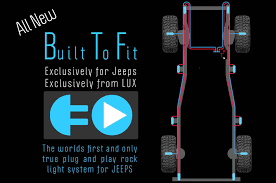 jeep headlights at night off road led lighting products led rock lights for jeep rock crawler