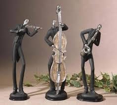 13 best jazz musician statues figurines sculptures images on