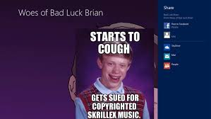 Good Luck Brian Meme - woes of bad luck brian app ranking and store data app annie