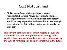 connecticut light and power smart meters smart grid ppt download