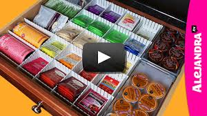 alejandra tv video kitchen organization ideas how to organize coffee tea