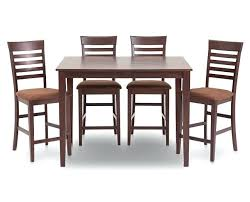 cabrillo counter height 9 piece cappuccino dining room table set