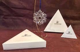 1999 swarovski annual ornament snowflake