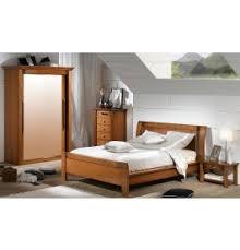 chambre en merisier chambre osiris merisier armoire lit haut 140x190 chevet