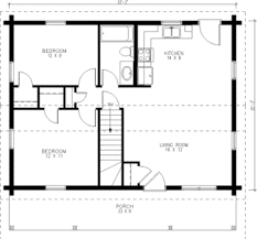 simple house plans tiny house single floor plans 2 bedrooms small kit homes one