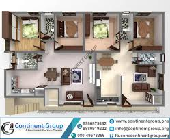 40x60 floor plans 3d floor plan service in bangalore continent group